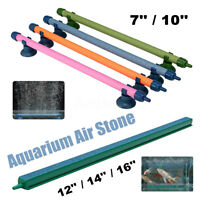 7/10/12/14/16'' Aquarium Air Stones Oxygen Bubbles Fish Tank U AU1
