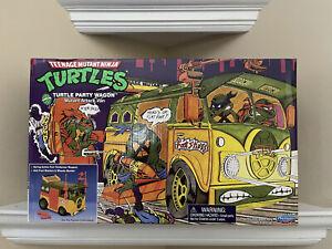 TMNT Original Party Wagon Playmates 2021 Teenage Mutant Ninja Turtles NEW SEALED