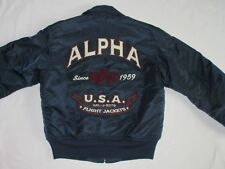 Alpha Industries Aviatore GIACCA BOMBER VINTAGE CWU 45 Air Force: S COME NUOVO