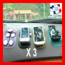 Support tapis Antislip X 3 silicone antidérapant voiture collant/lavable