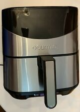 Gourmia Digital 6 Quart Air Fryer Healthy Frying LCD Display 8 Presets - Used