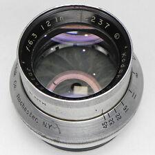 Kodak Commercial Ektar 12in f6.3 Barrel Lens  #RE237