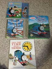 Thomas Train Railway Rhymes Lot Of 4 Books
