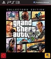 GTA Grand Theft Auto V * Collector's Edition * PS3/Playstation 3 * NEU / OVP