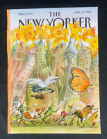 COVER ONLY ~ The New Yorker Magazine, April 15, 2013 ~ Edward Sorel
