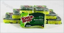 10 Pack Scotch Brite 3M Heavy Duty Scrub Sponges Non-Scratch Free Shipping
