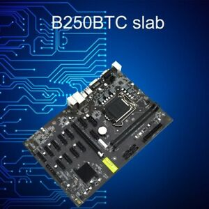 Professional Computer Motherboard B250Btc DDR4 Mining motherboard For Computer