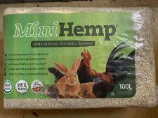NEW!! Mini Hemp pet bedding 100lt pack (Perth Metro ONLY)