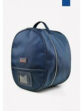 John Whitaker Atlanta Riding Hat-Helmet Bag-Navy-Free P&P