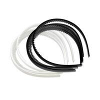 10er Set Kunststoff Stirnband DIY Haar Band Haarband Haarreif