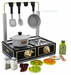 FAO Schwarz Tabletop Stove Playset, Includes Pot & Pan Props, Spatula & Spoon...