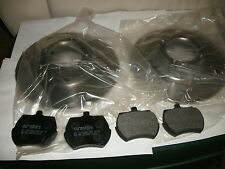MG MIDGET AUSTIN HEALEY SPRITE BRAKE ROTORS (SET/2) & PADS,FOR WIRE WHEEL CARS