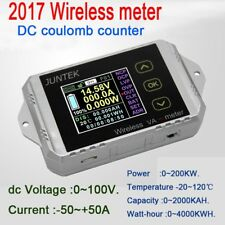 30A wireless DC volt AMP power meter Battery Monitor capacity Coulomb counter