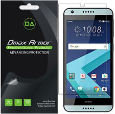 6-Pack Dmax Armor HD Clear Screen Protector shield for HTC Desire 555