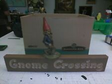 Tom Clark Gnome Swifty on Gnome Crossing Sign #41 Retired
