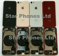 iphone 8 New Back Rear Housing/Chasis With GENUINE Parts & Wireless Charging