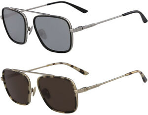 Calvin Klein Men's Squared Aviator Sunglasses - CK18102S