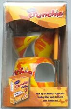 Cadbury Crunchie Chocolate Fondue Pot Ceramic Twin Fondue Set Tea Light New
