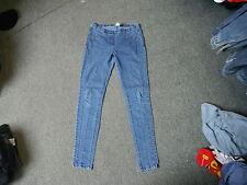 "Cherokee Jeggings Jeans Size 8 Leg 30"" Faded Medium Blue Ladies Jeans"