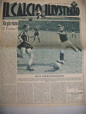 CALCIO 1946  VALENTINO MAZZOLA  INTER AMBROSIANA GRANDE TORINO ALESSANDRIA