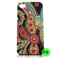 Décoratif Fleur Floral Housse Etui Coque rigide pour divers Téléphone portable