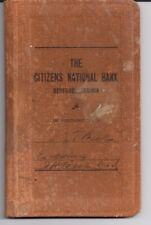 1949 Account Book The Citizens National Bank Bedford Virginia