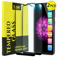 """TJS 2-Pack For Samsung Galaxy A10E 5.8"""" Cover Tempered Glass Screen Protector"""