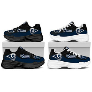 Los Angeles Rams Breathable Sport Shoes Hiker Gym No Slip Lightweight Sneaker