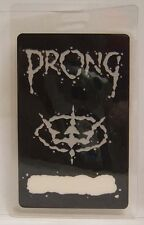 Prong - Vintage Original Concert Tour Laminate Backstage Pass