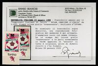 FRANCOBOLLI - 1988 REPUBBLICA MILAN AZZURRO L.650 GIALLO EVANESCENTE MNH Z/9499