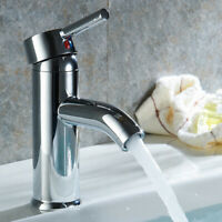 Single Handle&Hole Bathroom Vessel Sink Faucet Widespread modern Basin Mixer Tap