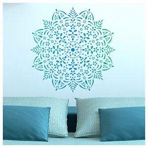 Amala Mandala Stencil - DIY Medallion Motif Template - Mandala Wall Stencil