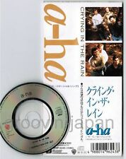 "A HA Crying In The Rain/(Seemingly)Non-Stop July JAPAN 3"" CD SINGLE WPDP-6243"