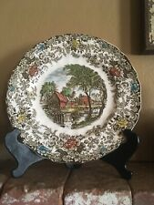 """Johnson Brothers MillStream 10"""" Dinner Plate Made In England"""