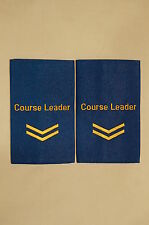 Canadian Army Corporal Course Leader Slip Ons Epaulettes Pair