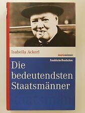 Die bedeutendsten Staatsmänner Isabella Ackerl Marix Verlag
