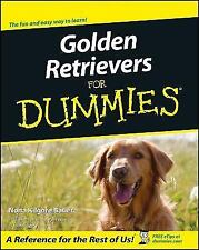Golden Retrievers for Dummies by Nona K. Bauer 2000 Paperback Dog Book #63