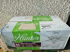 New Hunter Fan Company 52229 Donegan Indoor Ceiling Fan Fresh White