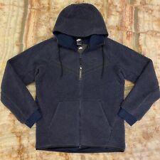 Nwt Mens Nike Nsw Icon Sherpa Tech Fleece Windrunner Hooded Jacket Sz: M $150