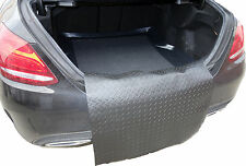 LDPE boot liner tray rubber bumper protector Mercedes W205 C class saloon 2013+