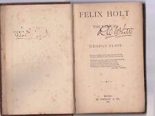 FELIX HOLT THE RADICAL-George Eliot   1884