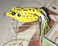 Super Frog 2-1/4 Inch Yellow Fishing Lure NIP