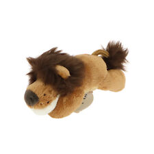 MagNICI Lion Brown Stuffed Toy Animal Magnet in Paws 5 inches
