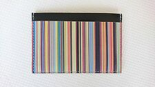 Paul Smith Wallet - BNWT Signature Multi Stripe Credit Card Holder Case/RRP:£100