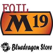 FOIL M19 Core Set Magic 2019 Complete Set Factory Sealed W/Ajani