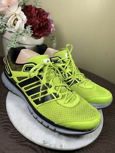ADIDAS ADIPRENE DURAMO 6 LIME BREATHABLE MESH MEN'S RUNNING SHOES EU 48 US 13 M