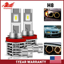 2x H11/H9/H8 120W LED Headlight Kit High/ Low Beam Bulb Fog Lamp 4300K 24000LM