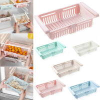 Refrigerator Box Can Holder Kitchen Shelf Organiser Cupboard Storage Basket Bin