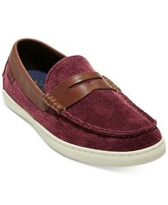 Cole Haan Pinch Weekender Mens Size 12M Loafers & Slip Ons Red Shoes