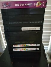 Kid's VHS Tapes -Lot of 12-No covers- Various as Listed